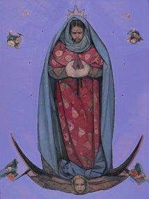Our Lady of Guadalupe©by Janet McKenzie